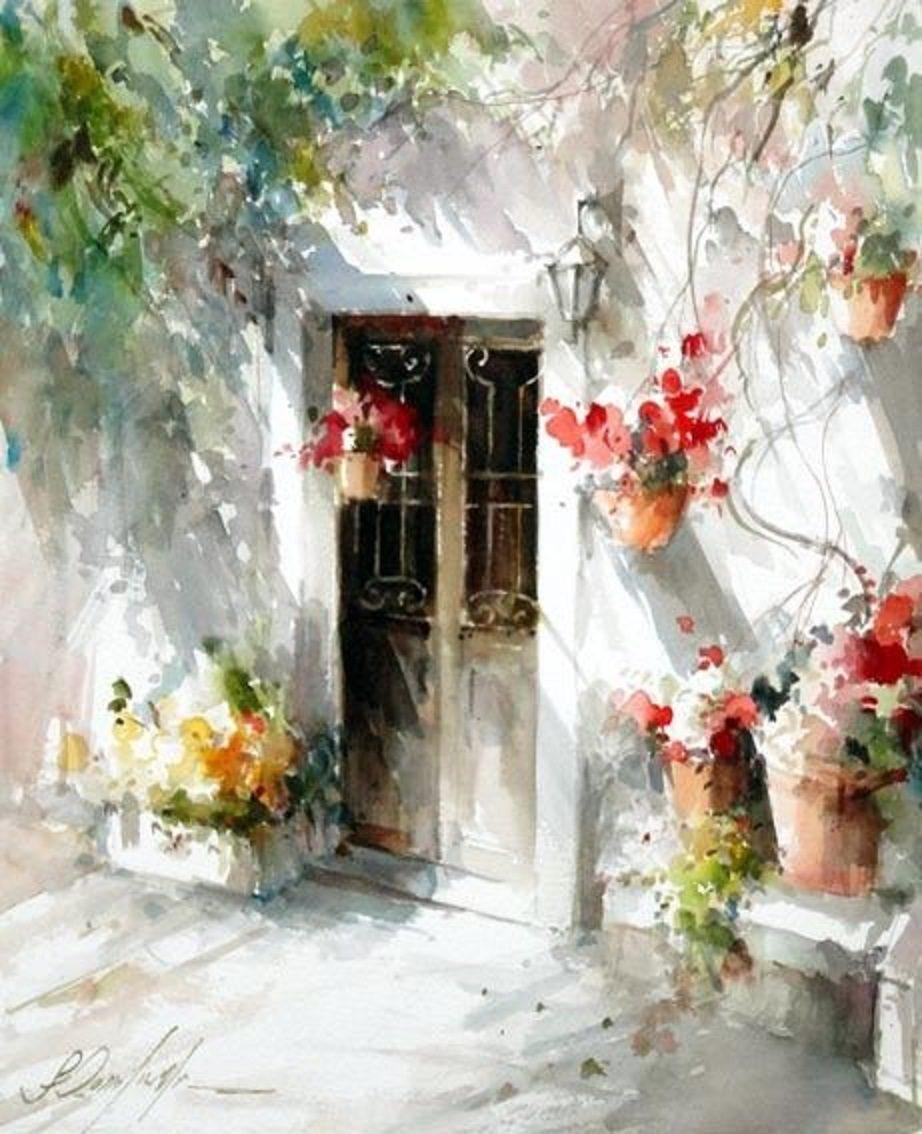 «Богатство цвета и ветвей…» Бразильский художник Fabio Cembranelli