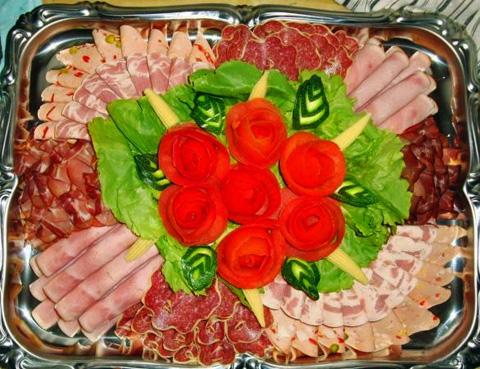 Украшение блюд на новый год 2015 своими руками фото