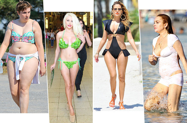 Кошмар на пляже: 12 самых неудачных купальников звезд