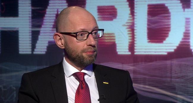 Арсений Яценюк жестко раскритиковал договоренности Путина и Трампа по Украине
