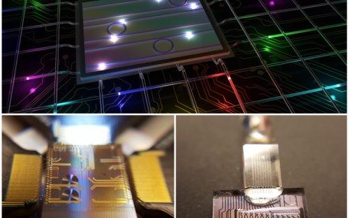 """""""Разноцветные"""" фотоны - революция в области квантовых вычислений"""