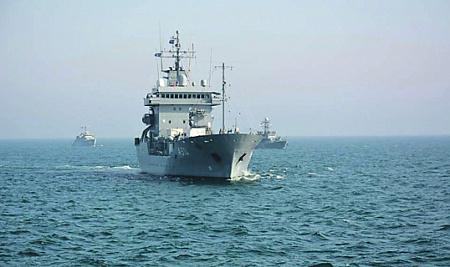 НАТО запустило в Черное море…