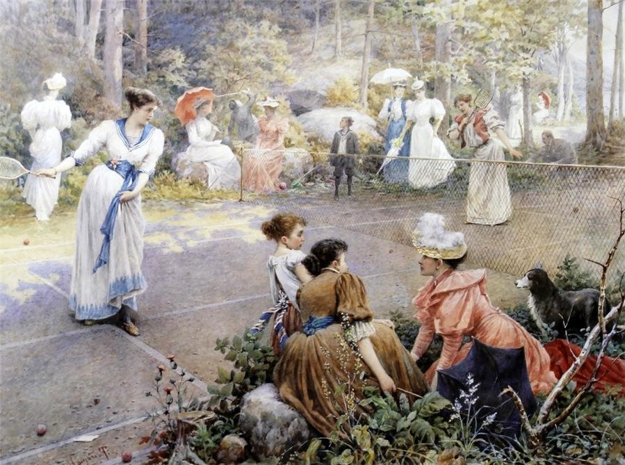 Тито Агуджари (Italian, 1834-1908) был известным итальянским портретистом и художником-историком