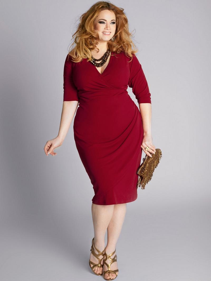 Фасоны платьев для полных женщин в возрасте после 50[6]