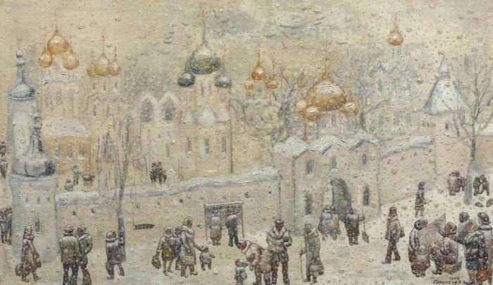 художник Василий Ситников картины - 11