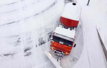 В Москве за последние сутки вывезли почти 500 кубометров снега
