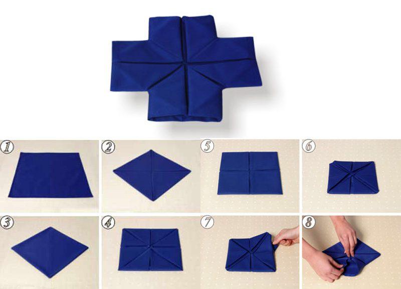 Как сделать салфетку 10 на 10