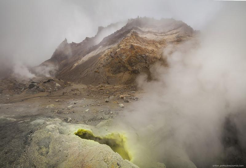 Преисподняя. Мутновский вулкан вулкан, камчатка, природа