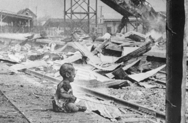 1. Шанхайский ребенок история, ужас, фотографии