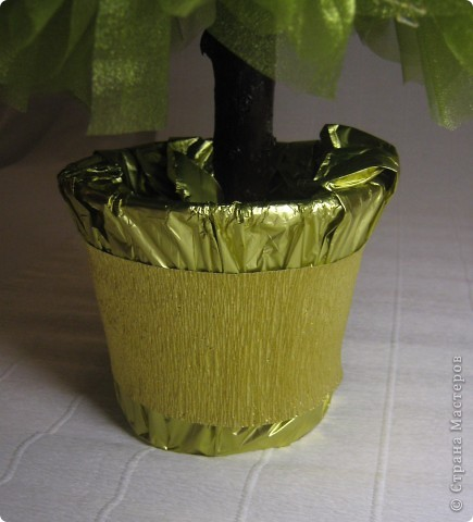 Мастер-класс, Свит-дизайн: МК елочки из конфет Новый год. Фото 28