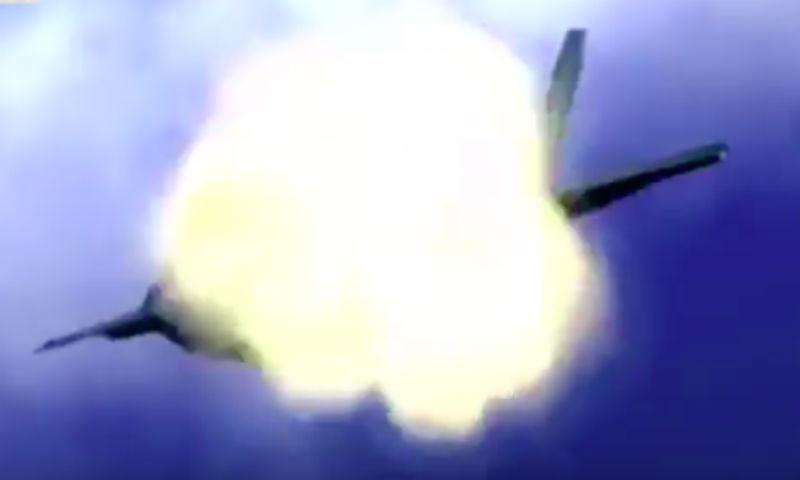 Пдыщ: Северная Корея опубликовала видео уничтожения авиации США