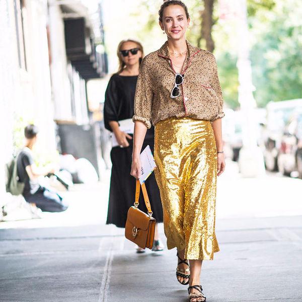 Шесть вещей золотого оттенка, которые можно носить с чем угодно