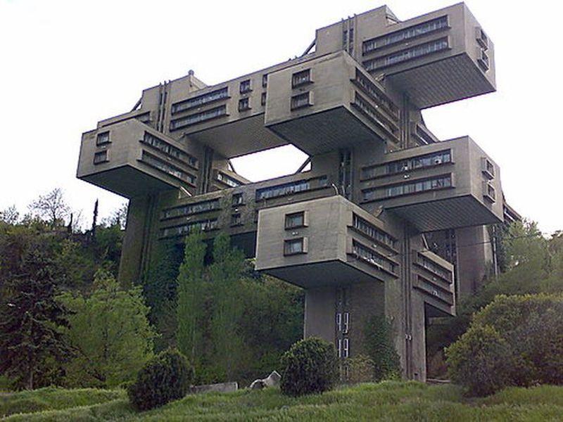 Грандиозные и фантастические сооружения времен СССР(24 фото)