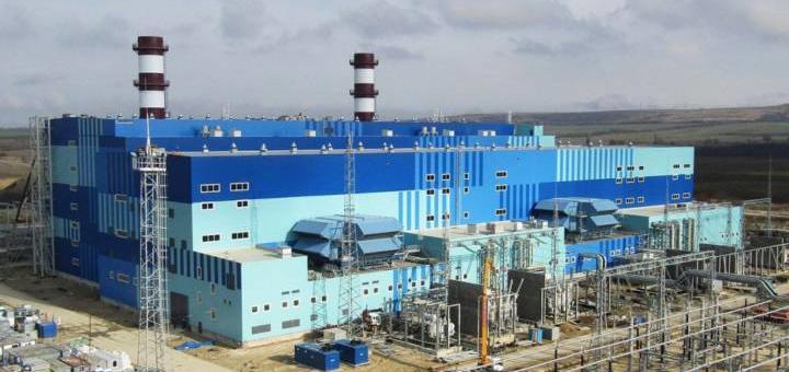 Две новые электростанции в Крыму