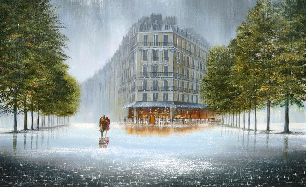 Дождь влюбленным не помеха...