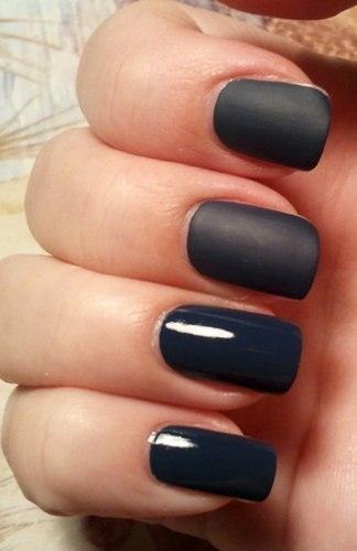 Как сделать матовым лак для ногтей