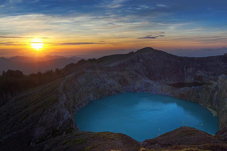 Кратерные озера на Земле