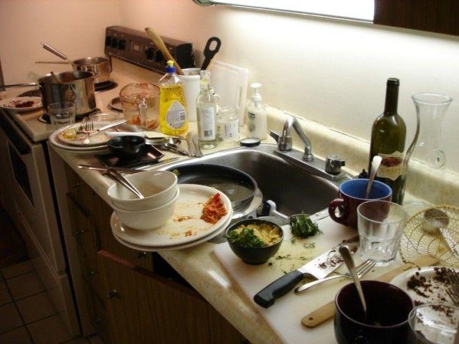 Почему в гостях нельзя мыть посуду?