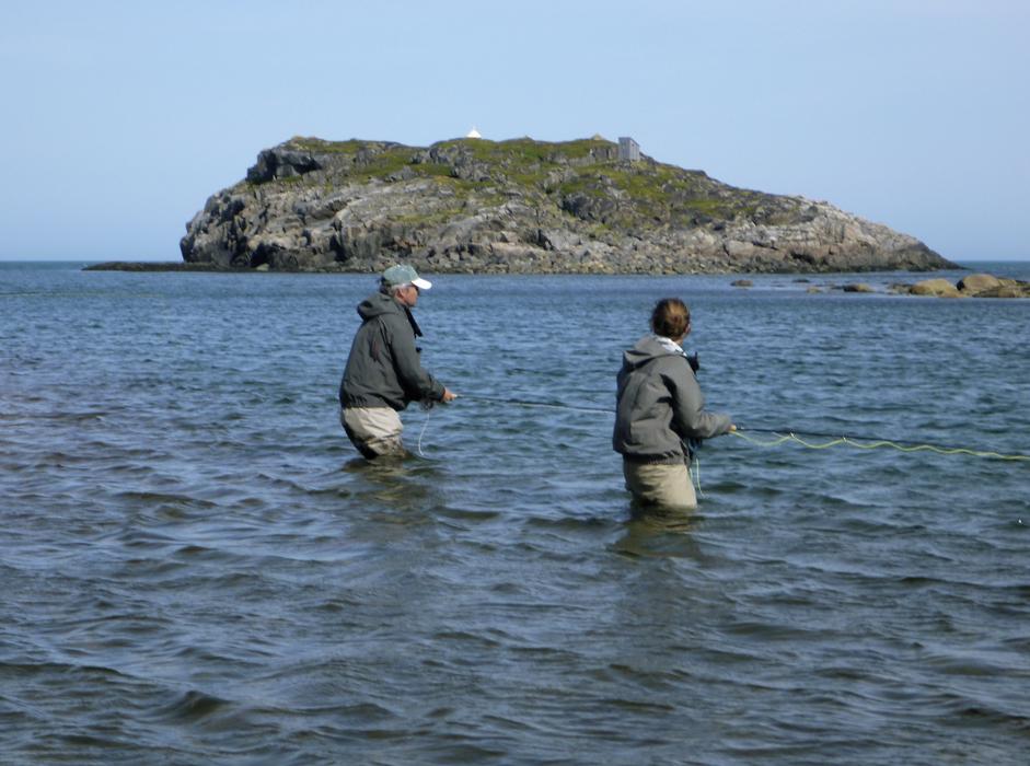 как ловить семгу в баренцевом море