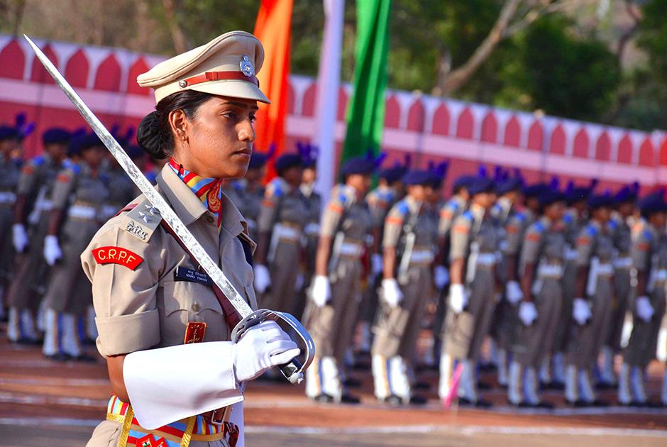Женский полицейский батальон в Раджастане (Индия)