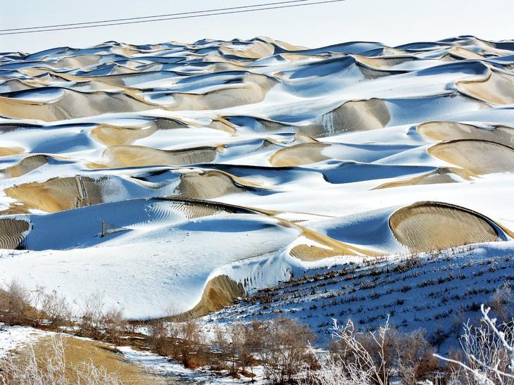 ТаклаМакан Китай. Жажда цветов и красок. 11 самых необычных и загадочных пустынь нашей планеты. Фото с сайта NewPix.ru