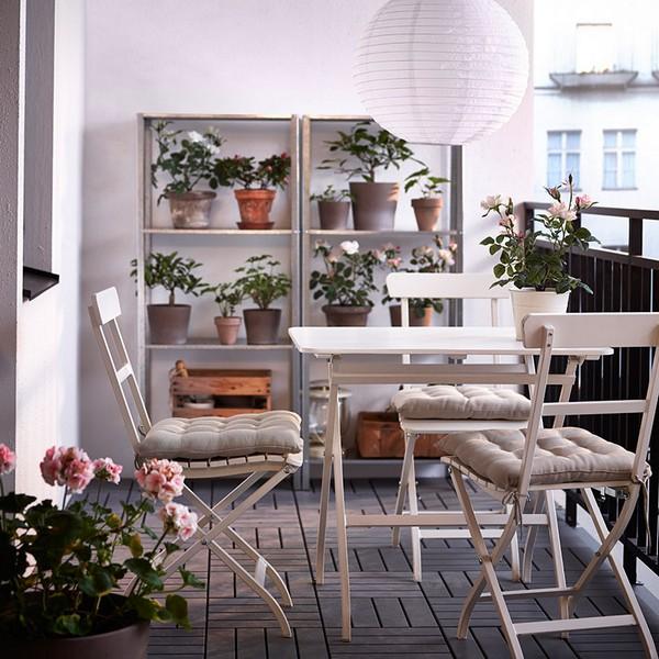 Модели столиков на балкон