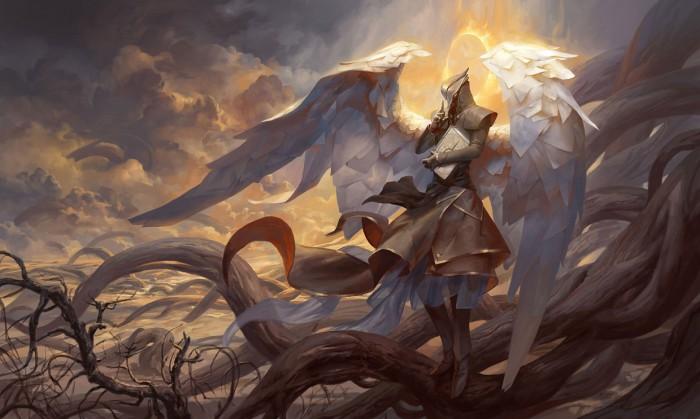Ангелы или демоны? Впечатляющие иллюстрации Питера Морбахера