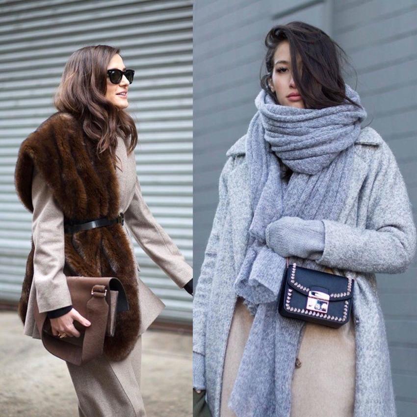 Как носить шарф, чтобы выглядеть стильно