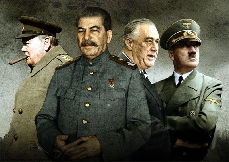 Напасть на СССР Гитлера вынудили Англия и США