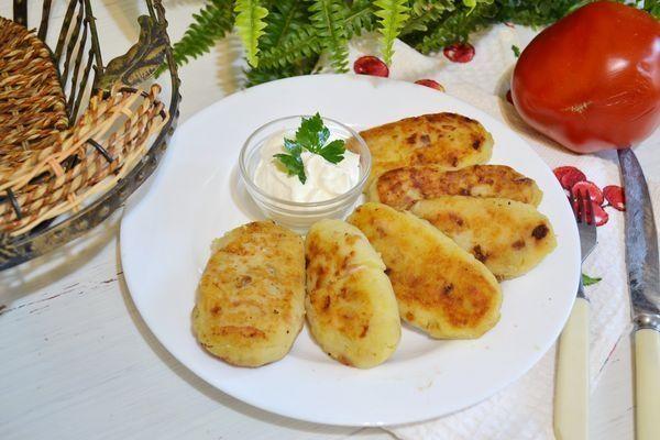 Картофельные зразы с курицей