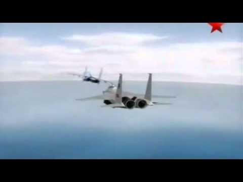 Русские на СУ-27 уделали американцев!