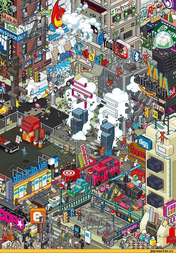 pixel art,skype,bing,yahoo,google,google приколы,youtube,firefox,digg,tech,technoart,delicio,foobar,myspace,lastfm,amazon,ask
