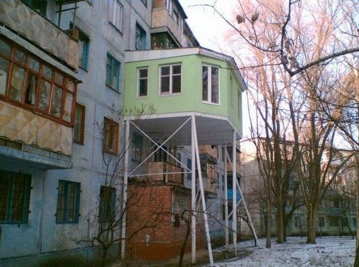 Балкон в России как объект для творчества и креативных идей…