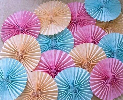 Заготовки для изготовления волшебных зонтиков