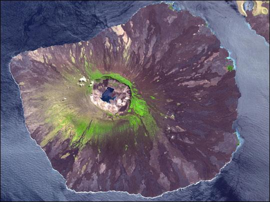 Вулкан Ла-Кумбре, остров Фернандина, Галапагос