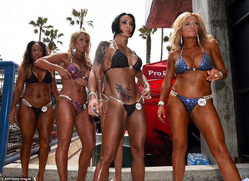 В Калифорнии прошел конкурс бикини-королев
