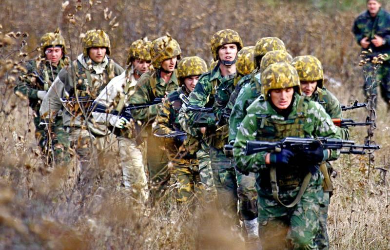 Армейский спецназ Вооруженных сил РФ