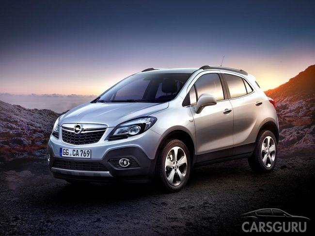 Opel Mokka снова стал «Лучшим полноприводным автомобилем»