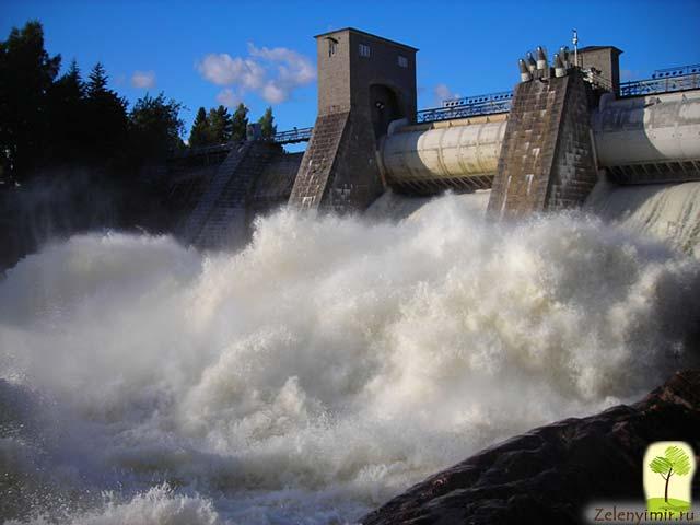 Завораживающий водопад Иматранкоски на плотине в Иматре, Финляндия - 6