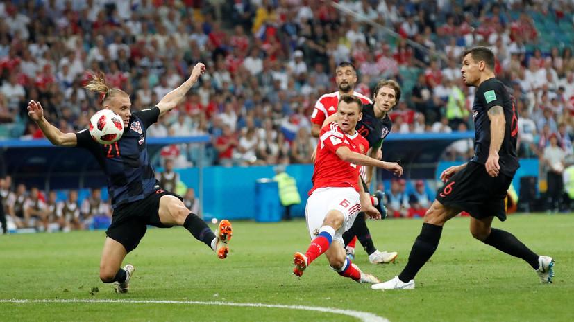 ФИФА включила Черышева в пятёрку главных открытий ЧМ-2018