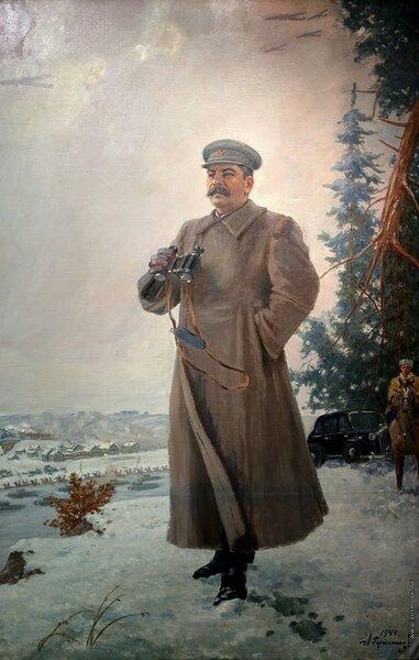 Сталин и битва под Москвой в 1941