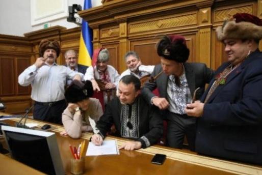 Депутаты Рады написали хамское письмо Путину за введенные санкции