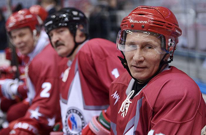 Путин и Лукашенко сразятся на льду