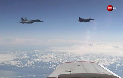 В НАТО прокомментировали сближение F-16 с самолетом Шойгу