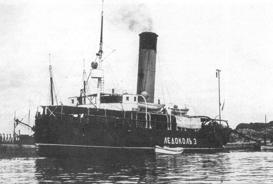 лодка катер ледокол
