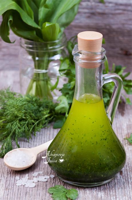 «Зеленое» масло