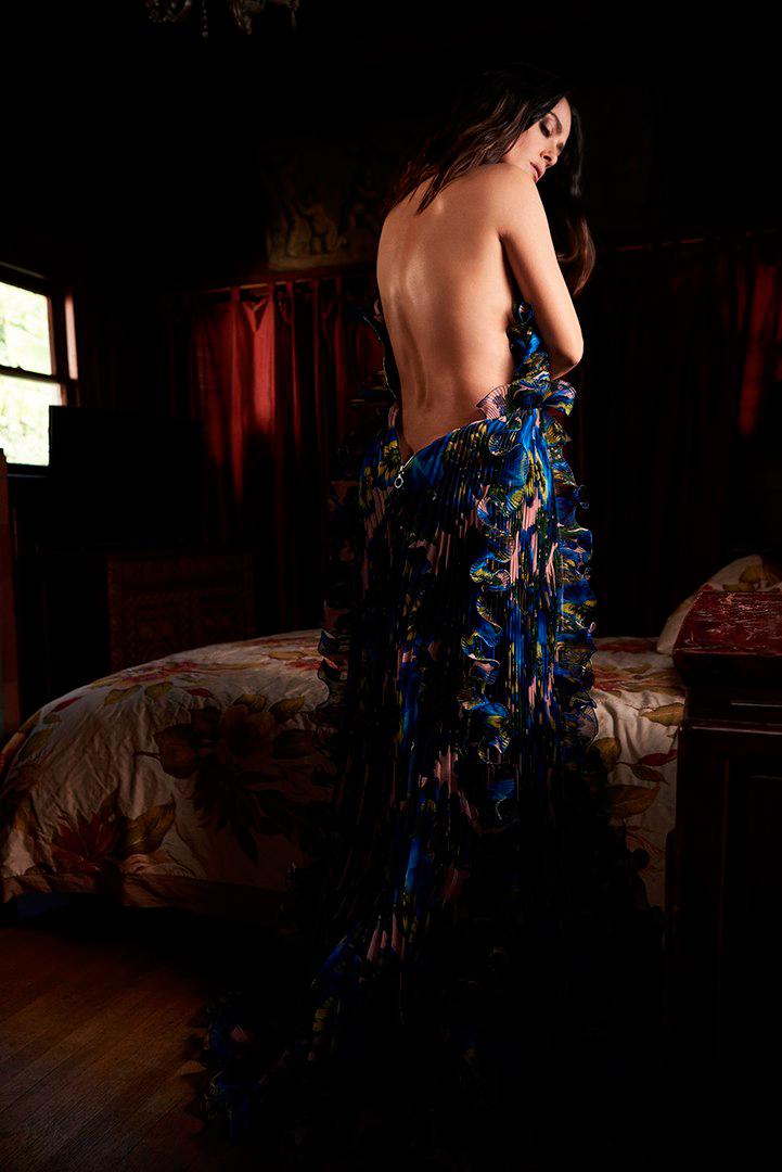 Подборка лучших фотографий Сальмы Хайек из фотосессий разных лет