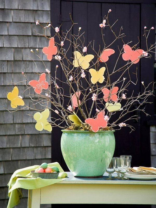 Украсить дом на весну своими руками