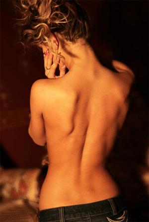 Голые со спины фото