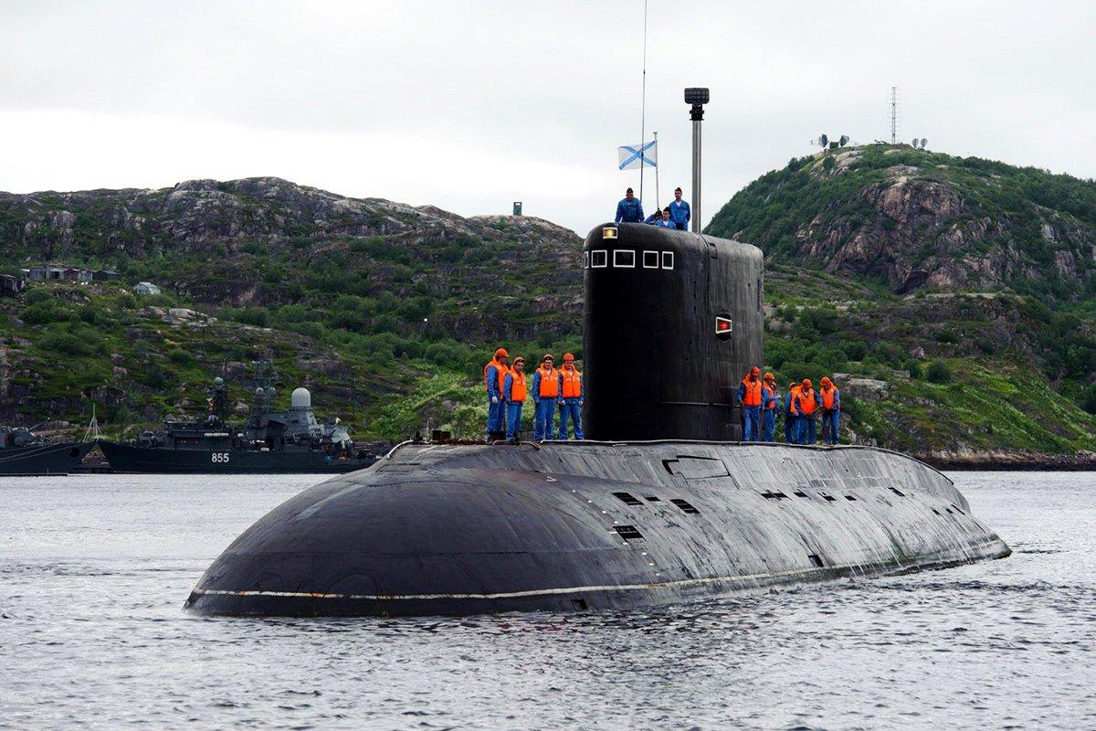 Telegraph: американский адмирал рассказал о тревожности по поводу российской «подводной угрозе»